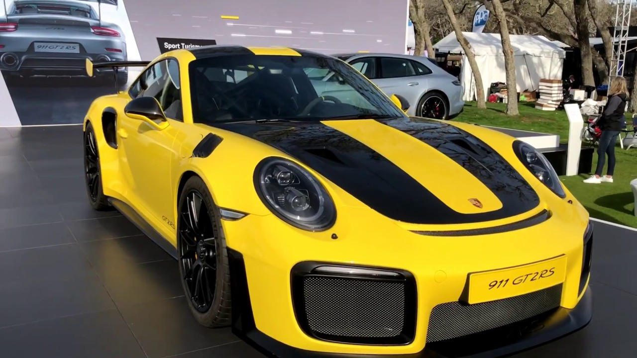 Usa Debut 2018 Porsche 911 Gt2 Rs 700hp 340k For Hottest Ever