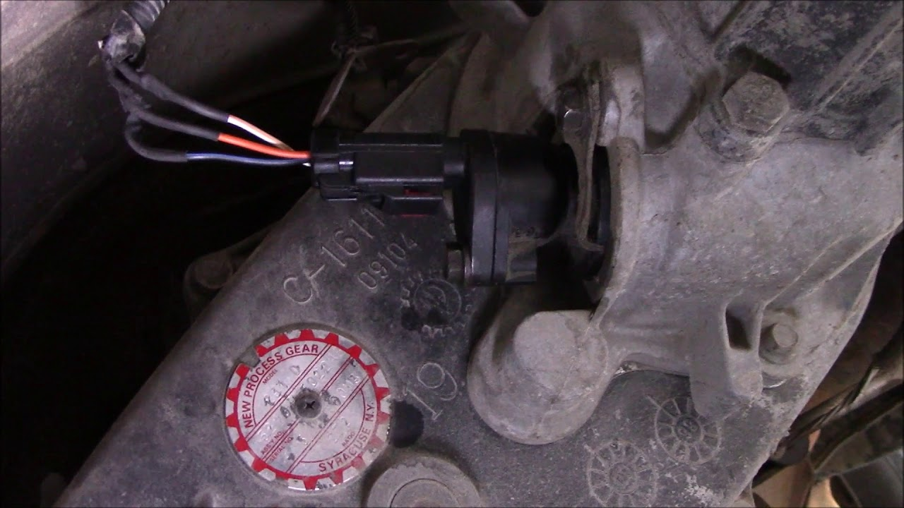 1997 Dodge Ram OutputVehicle Speed Sensor  YouTube