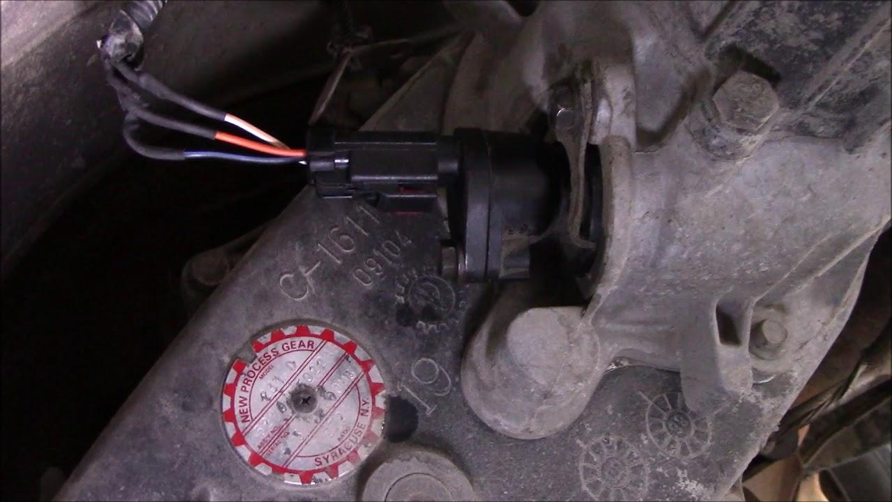 1997 Dodge Ram OutputVehicle Speed Sensor  YouTube