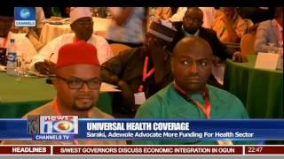Saraki, Adewole Advocates More Funding For Health Sector