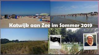 Katwijk aan Zee, ein Urlaubstag in den Niederlanden, holländische Nordseeküste