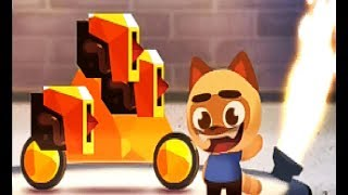Золотая пирамида КОТЫ В ТВОЕЙ МОБИЛКЕ  CATS: Crash Arena Turbo Stars #32 Мультик игра про котиков