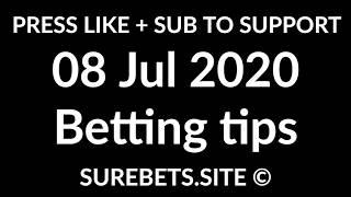 Football Betting Tips Today - 08 July 2020 - Premier League, La Liga, Serie A, Super Lig Predictions