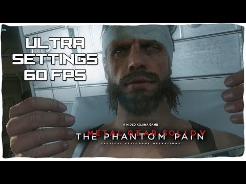 Gameplay METAL GEAR SOLID V: THE PHANTOM PAIN - PC ULTRA 60FPS