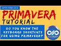 Do you Know the  Keyboard Shortcuts for using Primavera?