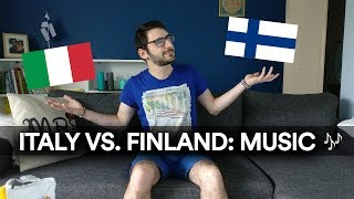 ITALY VS. FINLAND: MUSIC - Timppa Talks