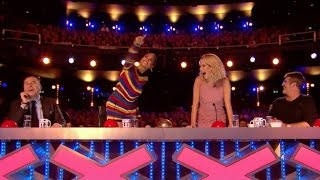 he maybe the worst impressionist but he also is a hilarious guy   week 4   bgt 2017