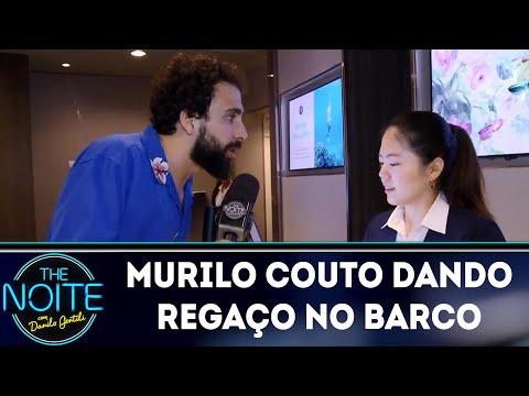 Murilo Couto dando regaço no barco | The Noite (11/05/18)