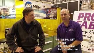 Advanced welding techniques for stainless steel TIG welding(Discussing techniques for advanced stainless steel TIG welding, Miller Motorsports Marketing Manager Andy Weyenberg and Steve Sousley, owner of ..., 2014-08-15T15:01:32.000Z)