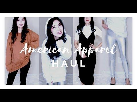 AMERCIAN APPAREL TRY-ON HAUL |  Alexastylebook
