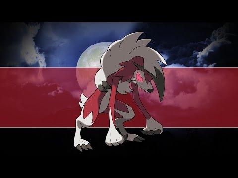 ¡Añade este poderoso Lycanroc a tu juego de Pokémon Sol o Pokémon Luna!