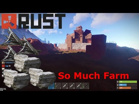 Rust Raid | What Raiding a Crazy Farmers base looks like (Vanilla)