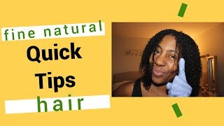 Quick Tip #1 for Fine Hair - Using Non Latex Exam Gloves