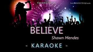 Shawn Mendes Believe from Disney Descendants Instrumental Karaoke Version with vocals without lyrics