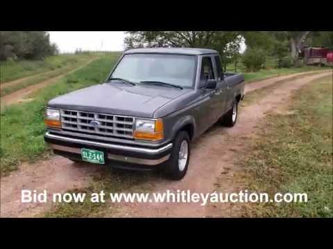 1991 Ford Ranger Pickup Sells At Auction