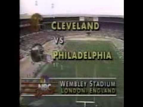 1989 NFL on NBC Intro (American Bowl IV)