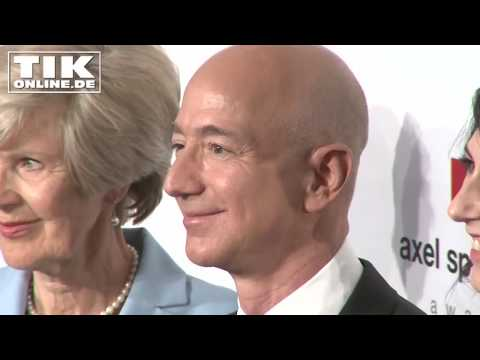Jeff Bezos: Der reichste Mensch der Welt in Berlin