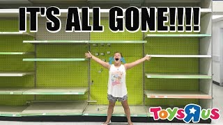 Last TOY HUNT AT Toys R Us EVER!!
