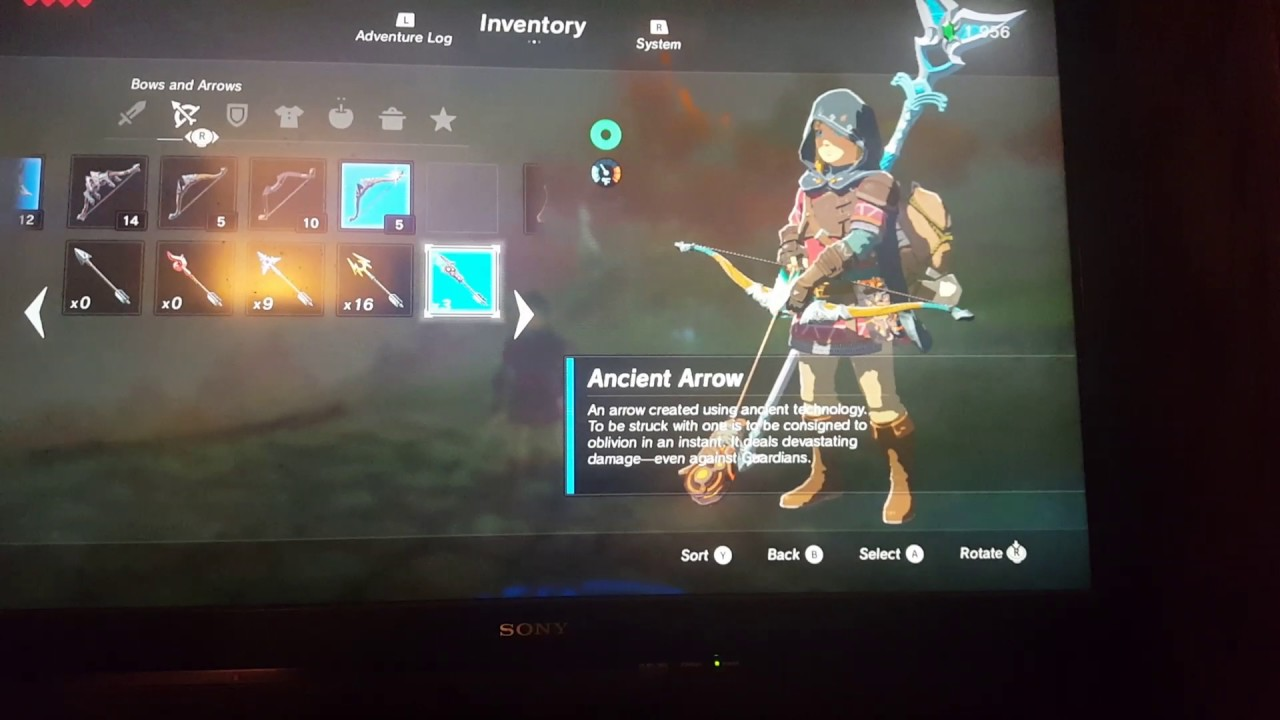 How To Get Ancient Arrows, And Items In Breath Of The Wild