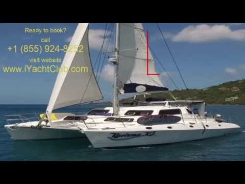 Best BVI Crewed Yacht Charters - Catamaran Karizma Tour
