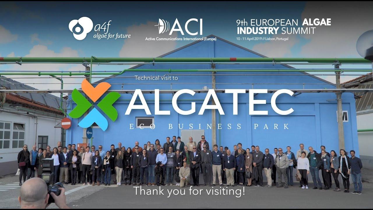 Eais 2019 Technical Visit To Algatec Eco Business Park Youtube