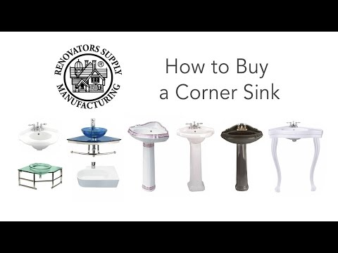 Corner Sinks | Bathroom Corner Sink How to Buy