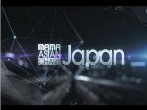 MAMA Aisan Chart (Korea , Japan , China ) _ 1st week of September