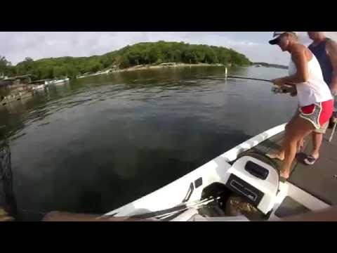 Summer Bass Fishing Lake Of The Ozarks
