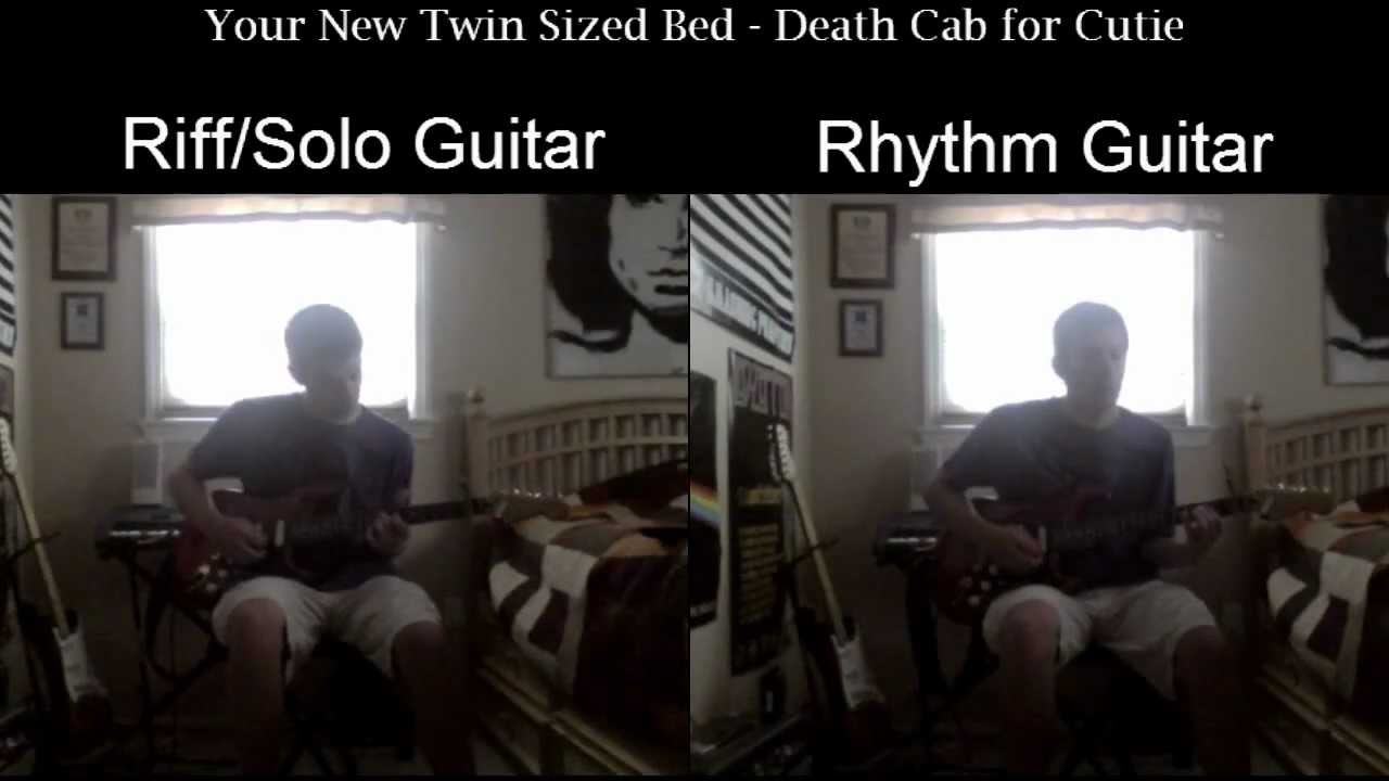 Your New Twin Sized Bed Death Cab For Cutie Guitar Cover Hd