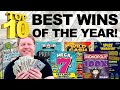 💰 Top 10 BIGGEST WINS OF 2020 ✦ Fixin To Scratch