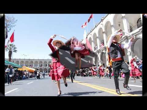 VIDEO: Cumbia Arequipeña - Paulino Rebaza y su rondin viajero