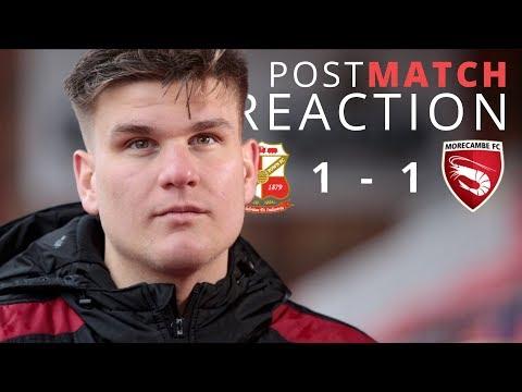 REACTION | Swindon Town 1-1 Morecambe