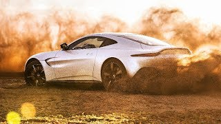 TopGear : the new Aston Martin Vantage 2018 tested in Morocco
