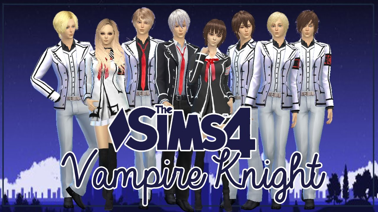 Sims 3 Anime Characters : The sims create a sim anime character vampire knight