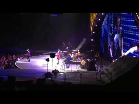 When The Whip Comes Down live, Rolling Stones, Boston TD Garden, 2013-06-14