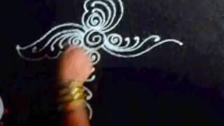 Rangoli design for Varalakshmi Pooja