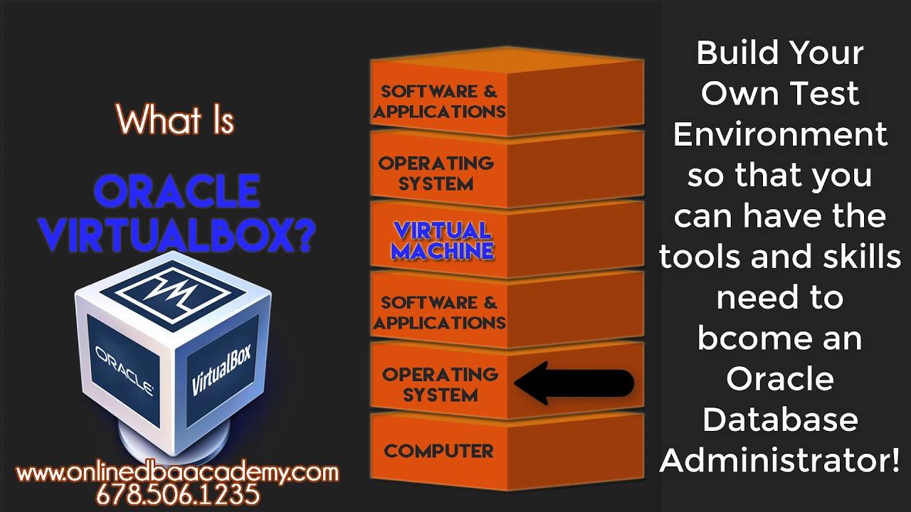 What Is Oracle Virtualbox - Oracle VM Virtualbox | Online DBA Academy