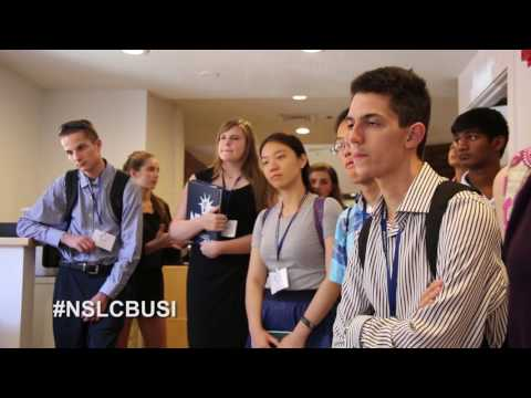 NSLC at Yale: Business & Entrepreneurship at Think Creative marketing firm
