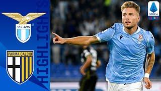 Lazio 2-0 Parma | Immobile and Marušić Secure Lazio Victory! | Serie A