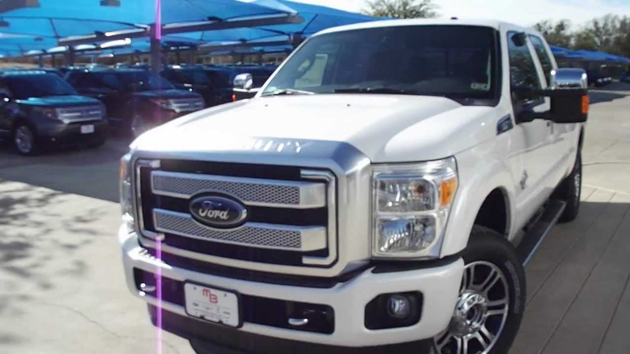 Ford Dealership In Texas All new 2013 Ford F250 Platinum Power Stroke Diesel Truck ...