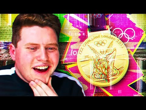GLITCHING MY WAY TO A GOLD MEDAL! (London 2012 Olympics)