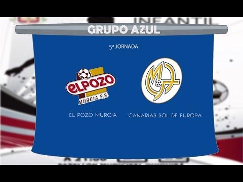 El Pozo Murcia vs Canarias Sol de Europa 5ª JOR Grupo Azul