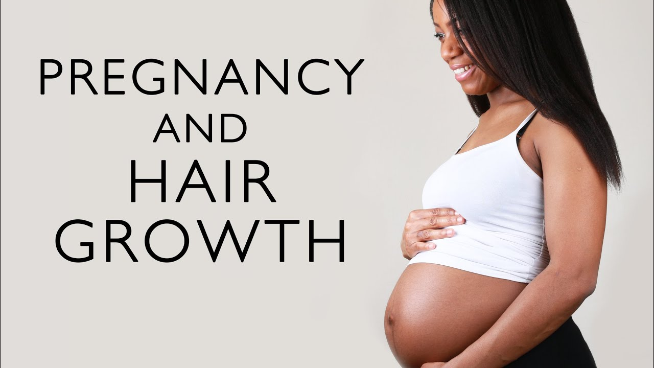 Why grow hair on the abdomen during pregnancy