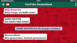 Katja Krasavice flirtet mit dem GAME MASTER! 😳💦  | YouTuber in einer WhatsApp Gruppe