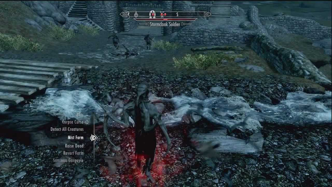 Skyrim Dawnguard Vampi...