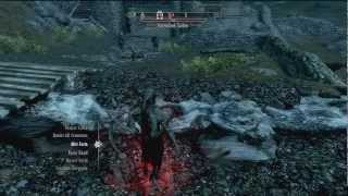 Skyrim Dawnguard Vampire Lord Perk Tree - Spells & Abilities