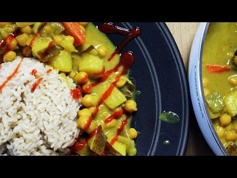 Coconut Curry Chickpeas Recipe // 30 Minute Vegan Dinner | Mary's Test Kitchen