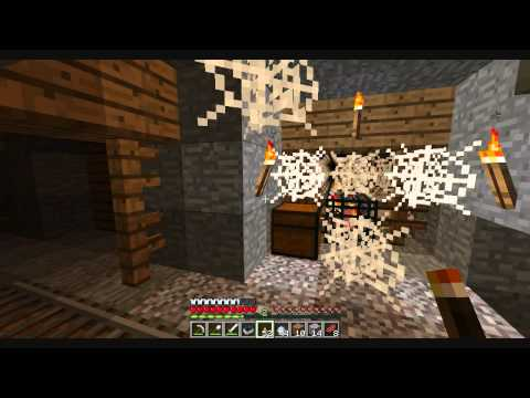 Minecraft with Eidni: Super Docile, Hills of moo: Part 2: Dam this is a big mineshaft!