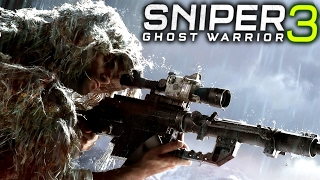 Sniper Ghost Warrior 3: Stealth Mission Gameplay