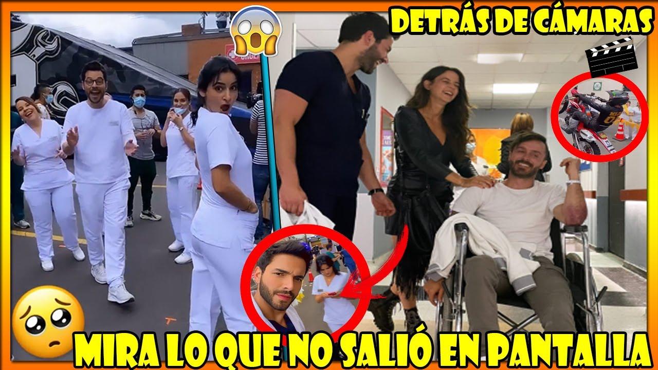 Esto fue lo que pasó Detrás de Cámaras en Enfermeras con Maleja y Tatan, Maria Clara celosa